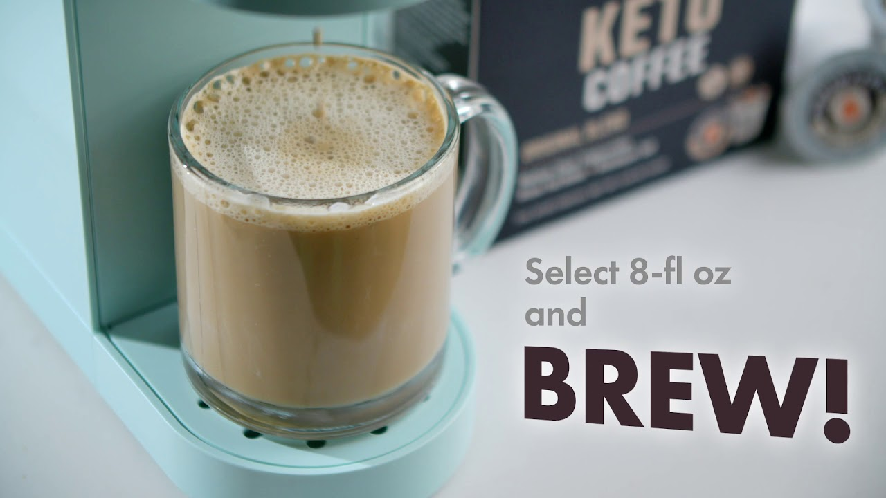 Keto Coffee Pods W Butter Mcts 3 Flavors