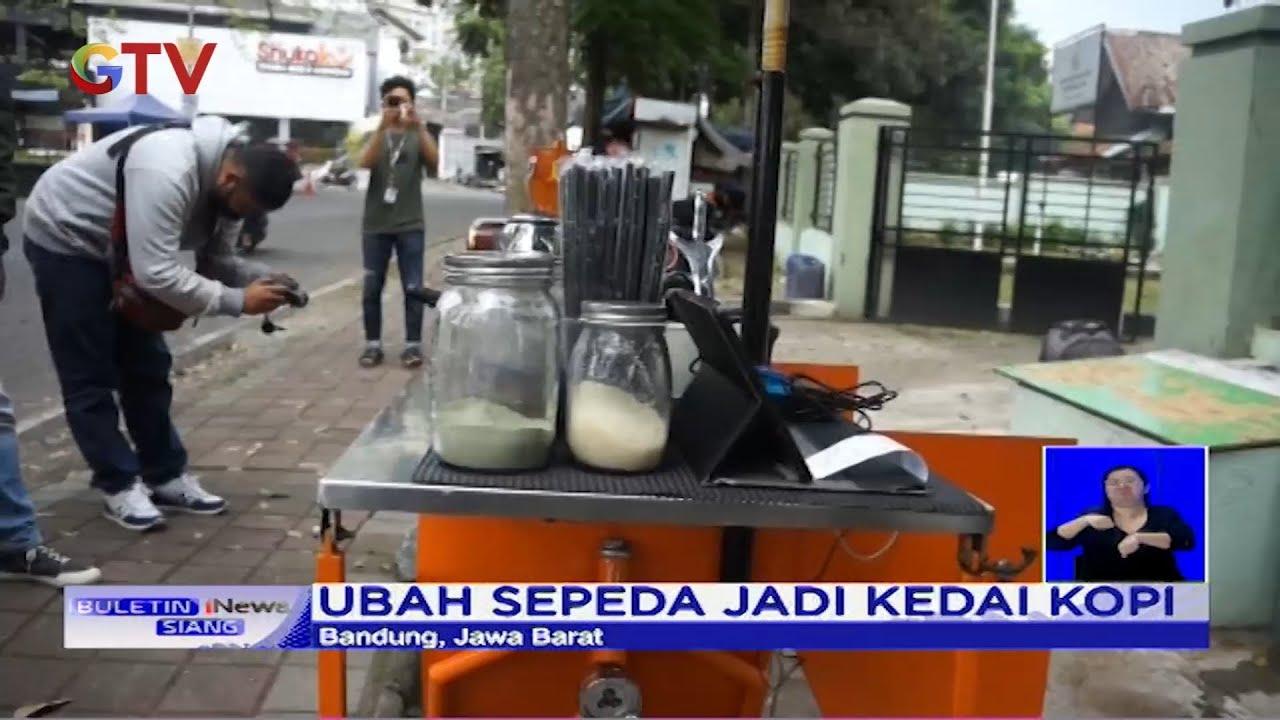 Unik! Pria di Bandung Modifikasi Sepeda jadi Kedai Kopi - BIS 23/06