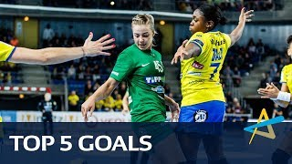 Top 5 Goals | Main Round 2 | Women's EHF Champions League 2017/18