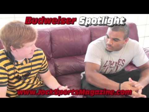 Dennis Hampton Presents Budweiser Spotlight Trey Yates Interview Tre Jackson