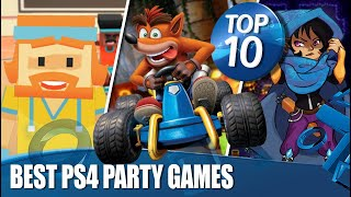 Top 10 Best Party Games On PS4