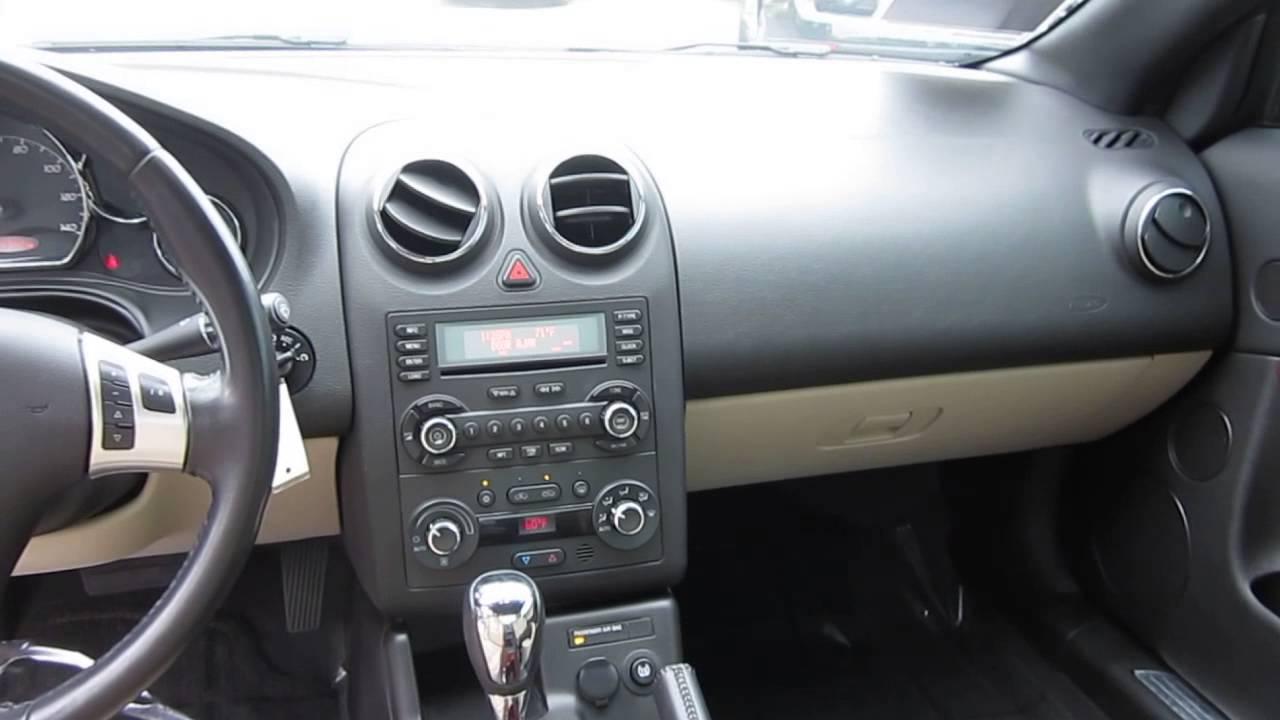 2007 pontiac g6 red stock k1400981 interior youtube