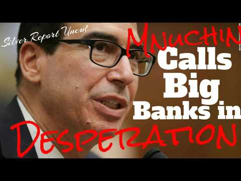 Economic Collapse News Steven Mnuchin Calls Big Banks Issues Odd Message That Sends Futures Tumbling