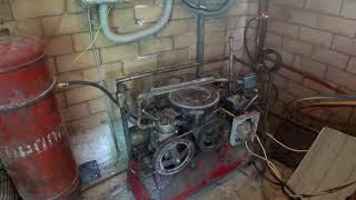 Сила ЗИЛа! Самодельный компрессор ЗИЛ-130 работает на  2800 об.  (340-360л/мин )★ Хранители истории