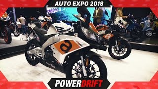 2018 Aprilia RS 150 and Tuono 150 @ Auto Expo : PowerDrift