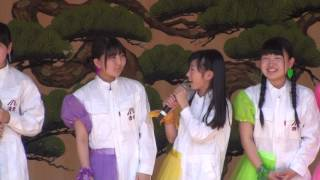 リンゴ娘(リンゴミュージック)桜まつりライブ 2017/05/05 10:30 弘前...