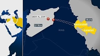 Иран обстрелял позиции ИГИЛ в Сирии  в ответ на теракт