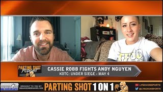 Cassie Robb talks Andy Nguyen rematch, Training w/ Rose Namajunas & Part-Time Modeling
