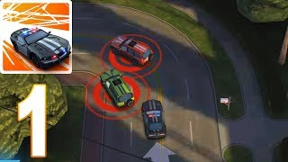 Smash Cops Heat - Police Chase | Smash Cars Gameplay Walkthrough part 1 (iOS, Android)