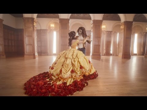 Beauty and the Beast - Traci Hines & Nick Pitera (OFFICIAL VIDEO)