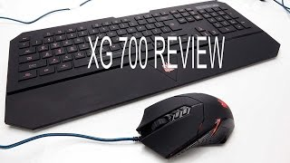 XG GC-700 Lumen Gaming mouse and Keyboard review