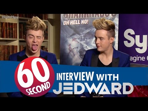 60 Seconds Interview with Jedward