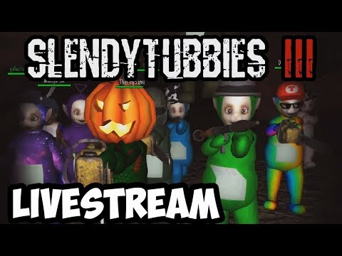 SLENDYTUBBIES MULTIPLAYER SURVIVALDEATHMATCHINFECTED STREAM -  ZEOWORKS COMES TO PLAY AGAIN