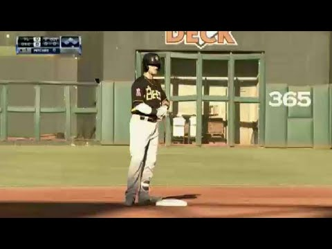 Bees' Ward rips a double