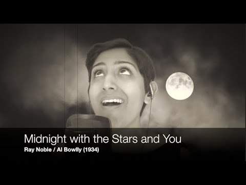 Midnight With the Stars and You - cover with vocals, guitar, keys (Al Bowlly / Ray Noble)