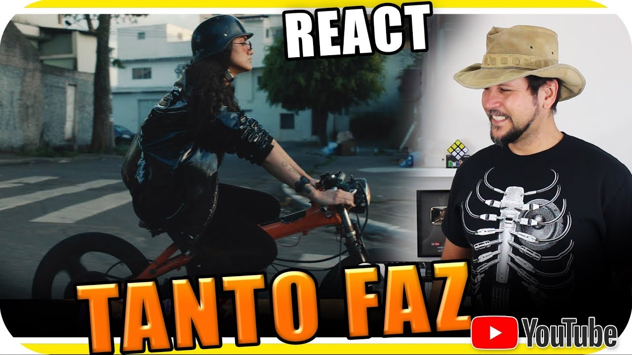 Day Tanto Faz Videoclipe Marcio Guerra React Youtube