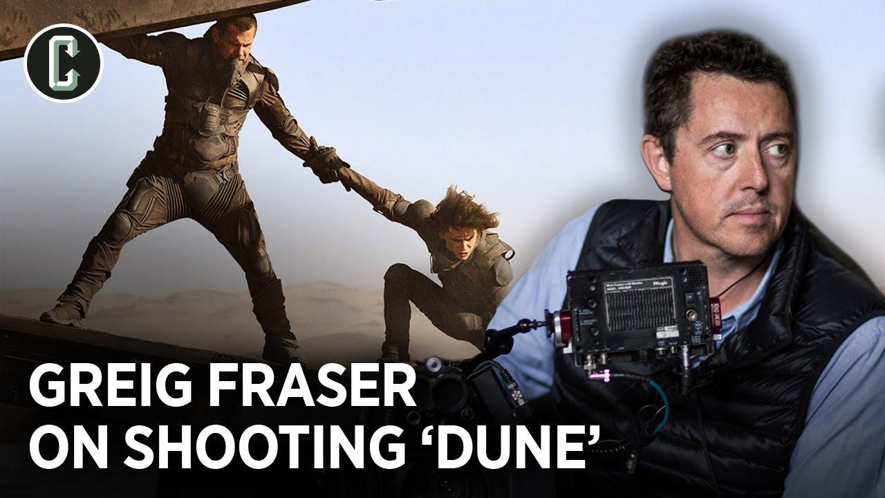 """Dune DP Greig Fraser on Shooting Denis Villeneueve's """"Epic"""" Sci-Fi Adaptation"""