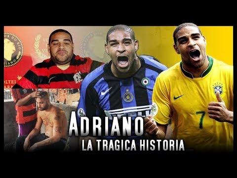 El peor fracaso del Ftbol: ADRIANO y la llamada que arruino su vida