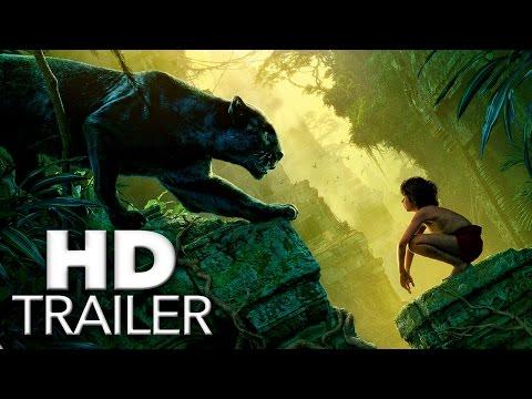 THE JUNGLE BOOK Trailer Deutsch German 2016 (HD) - Walt Disney Pictures