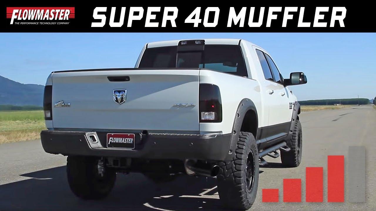 flowmaster super 40 series muffler for late model pickup trucks 853548