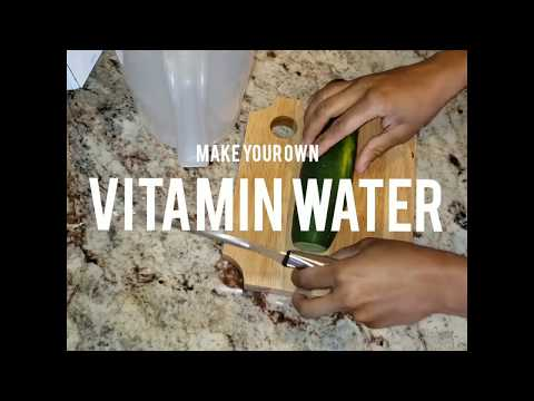 make-your-own-vitamin-water-|fruit-infused-water|-summer-body-detox-drink