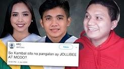 Kilala mo ba ang kambal na sina Jollibee at si McDo? (Weird Pinoy Names)