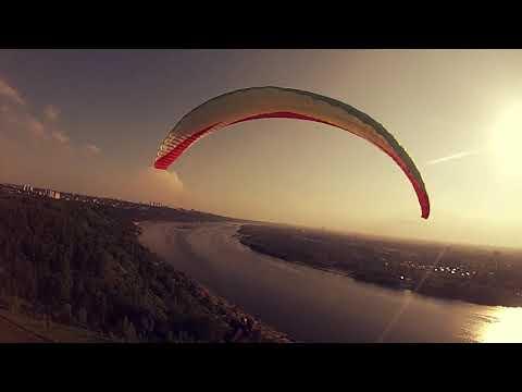 Полёты на параплане в Нижнем Новгороде, Парк Швейцария 29.05.19