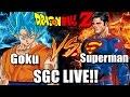 Goku VS Superman 2 DeathBattle LIVE SGC 2015