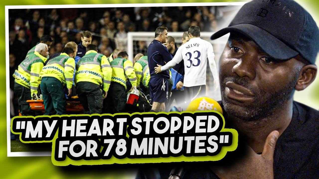 Fabrice Muamba On The Moment He 'Died' On The Football Pitch...