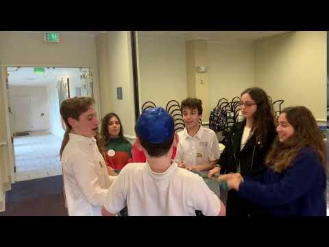 Team-Building on Know Your Classmates Day at Contra Costa Jewish Day School