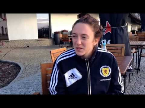 Lisa Evans ps Poland qualifier  FIFA Women's World Cup 2015 Qualifier