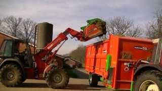 holaras wisent fb 22 kroko 240 voerdoseerwagen futterdosierwagen feederwagon