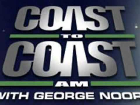 STRANGE CALL ON COAST TO COAST RE: EAST U.S COAST