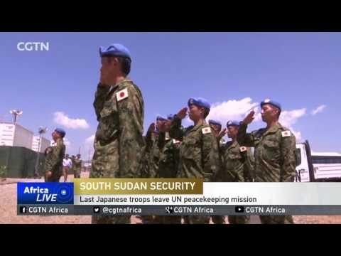 Last Japanese troops leave UN peacekeeping mission in South Sudan