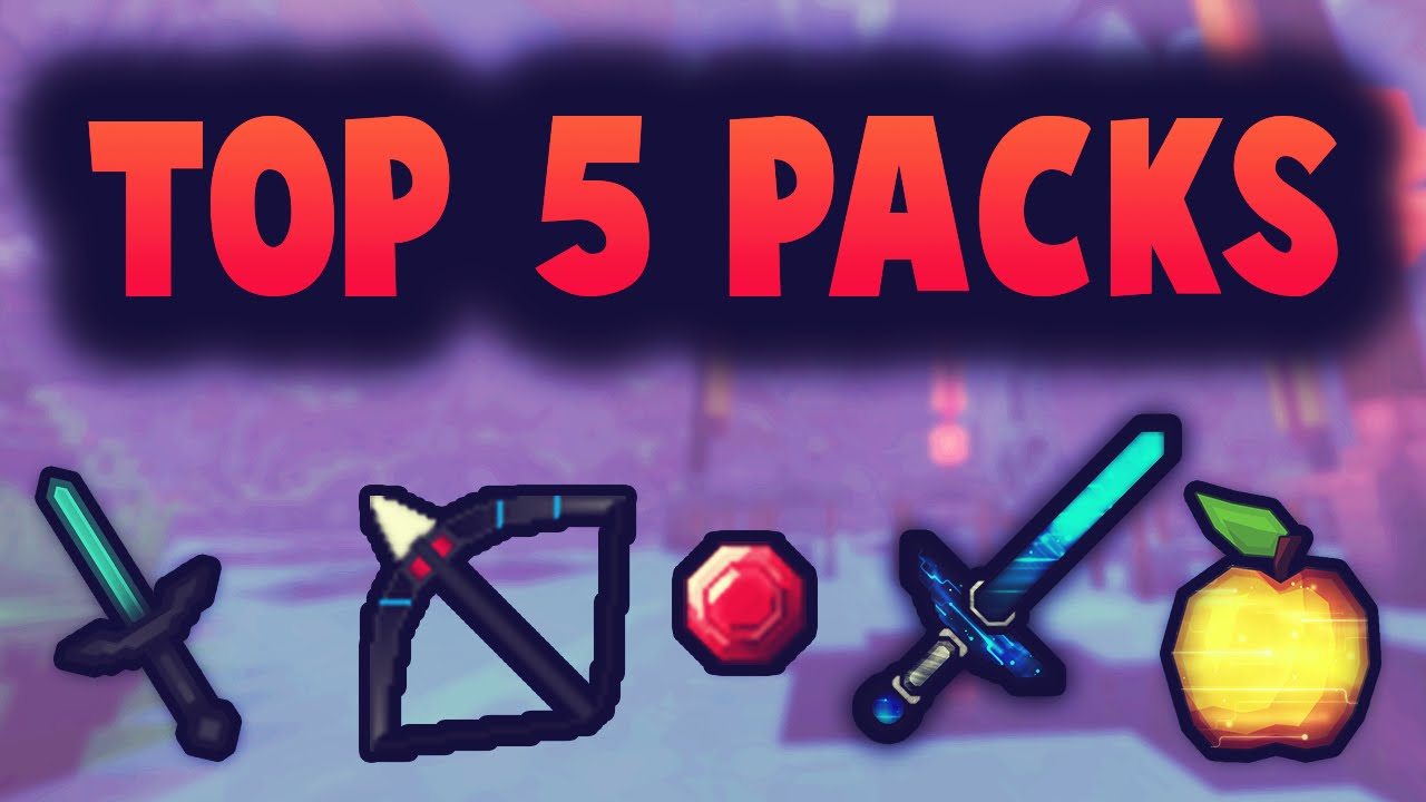 Top 5 Pvp Texture Packs Minecraft 1 8 Chrom Youtube