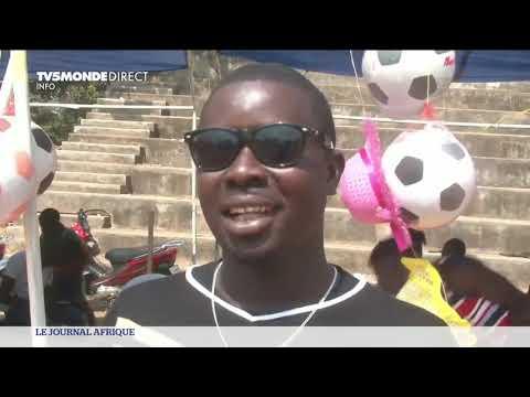 Centrafrique : le premier marché de Noël à Bangui