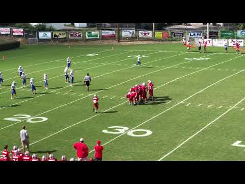 Ethan Gregory's 2018 7th Grade Corbin Middle School Redhound Football Highlights!!