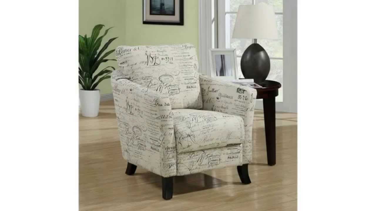 Cheap Accent Chairs | Comfortable And Beautiful | Monarch Specialties  Vintage French Fabric Accent   YouTube