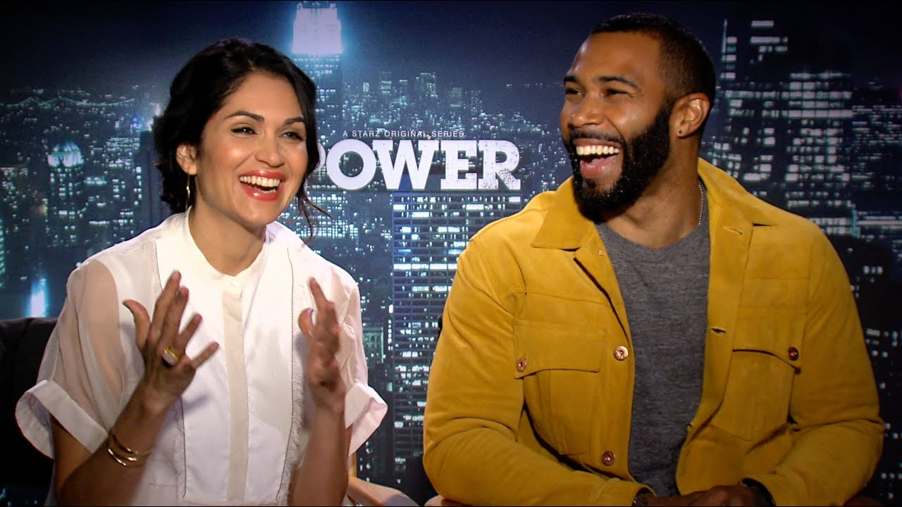 Co-stars of Power: Omari Hardwick and Lela Loren