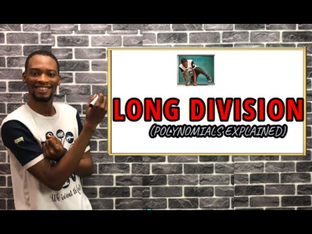 How To Do Long Division (Simplified)