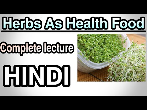 Herbal as health food   neutraceuticals   Herbal drug technology   B pharmacy 3rd year 6th sem  hind