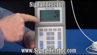 TDR Time Domain Reflectometer Part 2 - TDR Setup for Coaxial Cable with Events