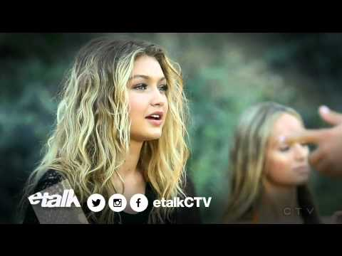 GiGi Hadid (Calvin Harris Music Video) & Etalk