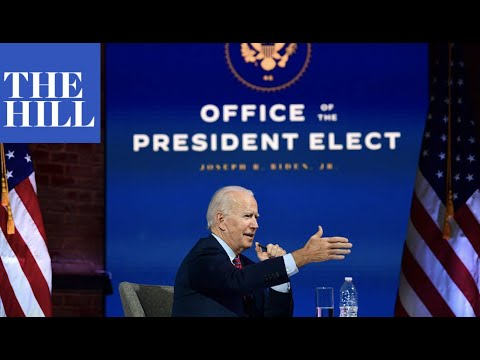 President-elect Joe Biden strikes conciliatory tone with Republicans in remarks to mayors