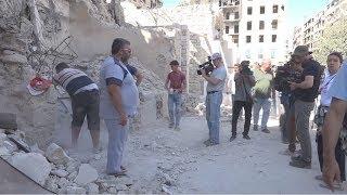 Как восстанавливают Алеппо эксклюзив «Хабар 24»