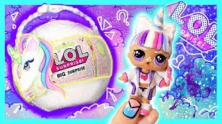UNICORN 🦄 LOL BIG Surpise DOLL CUSTOM! 💞 BIG L.O.L Surprise TUTORIAL / DIY
