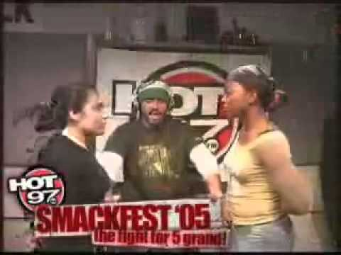 Hot97 Smackfest 2005 Jaclen New Jersey Vs Destiny Harlem