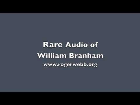 PREDICATION AUDIO WILLIAM MARRION BRANHAM