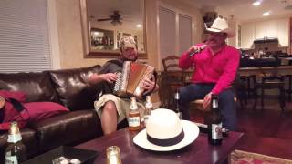 This is where the Cowboy rides away,  with accordion,  Bryan Texas
