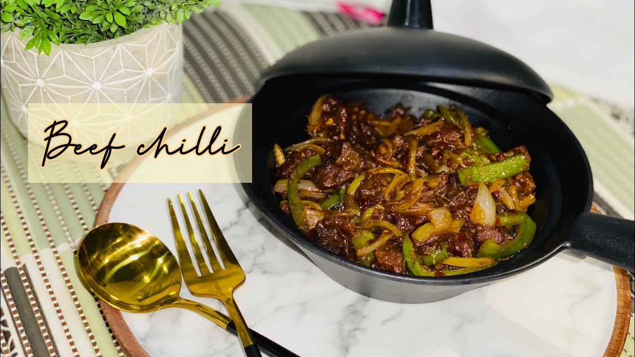 Download Beef chilli   Bakra Eid Special   Easy chilli recipe   Treasured Table